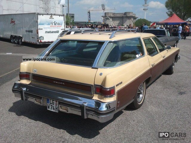 Buick Estate Wagon 1974 #5