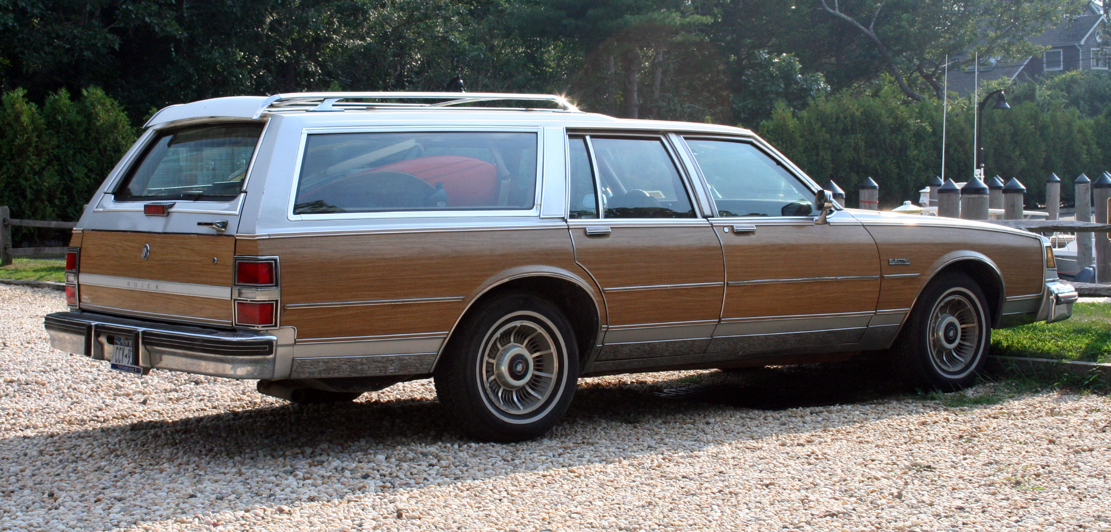 Buick Estate Wagon on 1987 Buick Electra