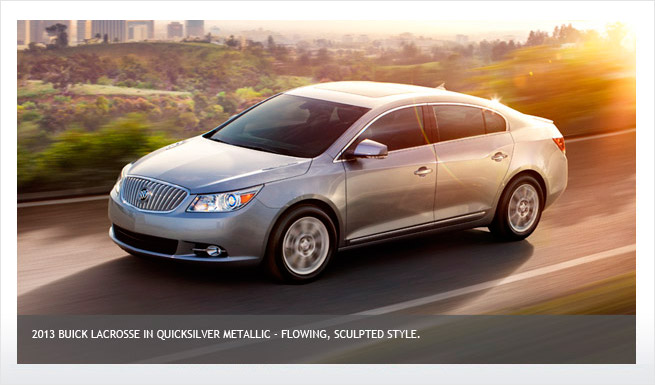 2013 buick lacrosse - information and photos
