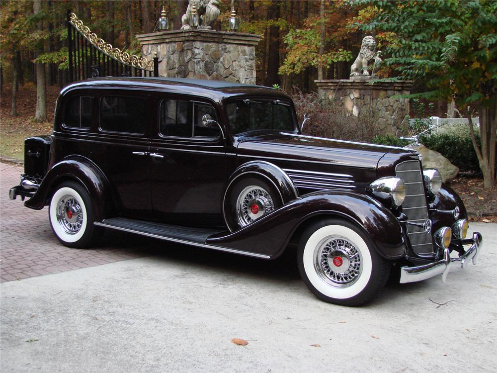 1935 Buick Limited Information And Photos Momentcar
