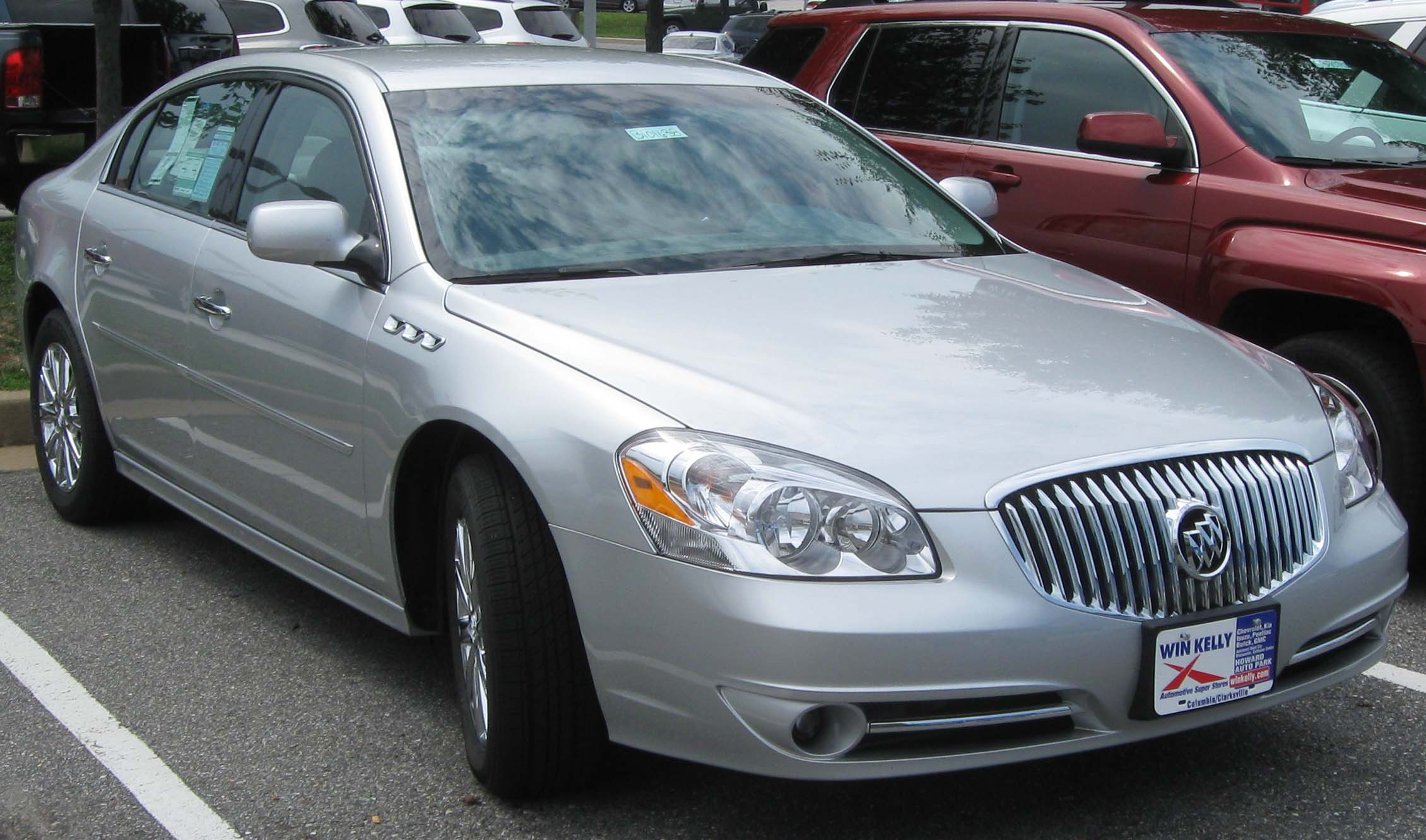 2011 buick lucerne information and photos momentcar. Black Bedroom Furniture Sets. Home Design Ideas
