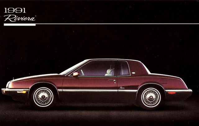 1991 Buick Riviera Information And Photos Momentcar