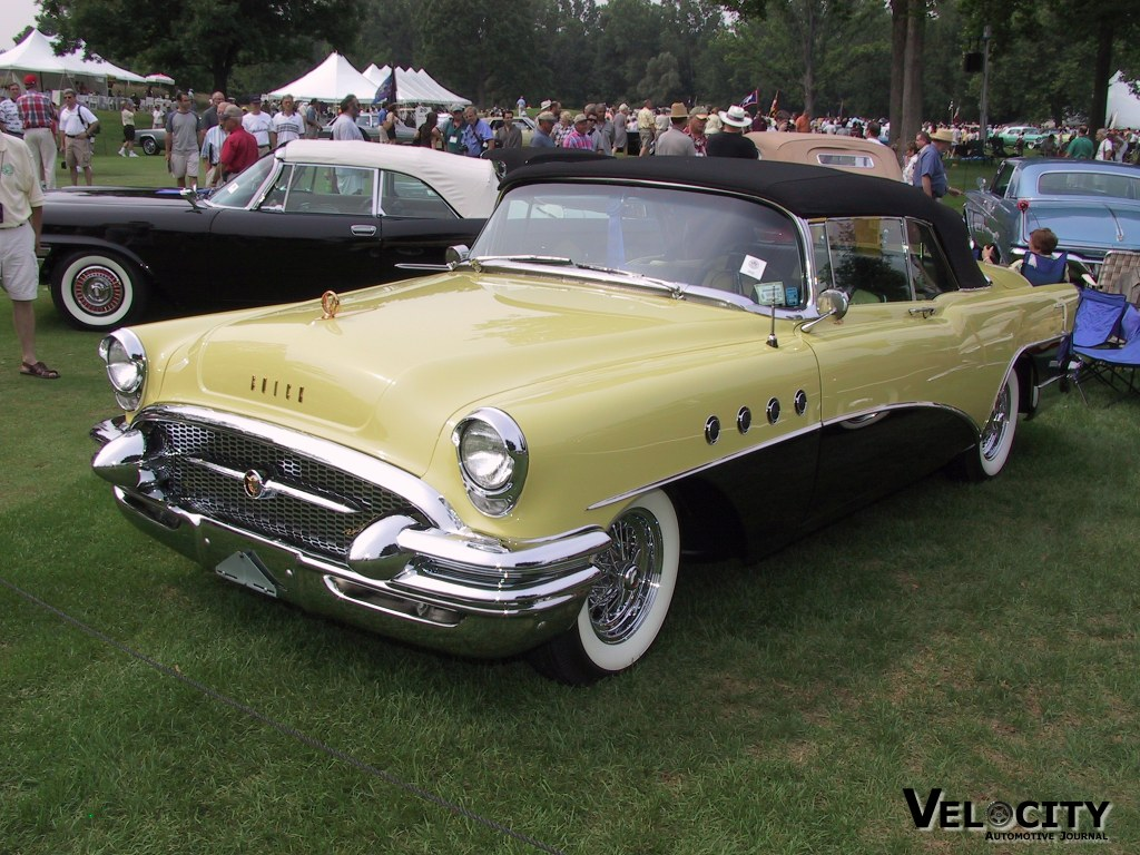 1955 buick roadmaster information and photos momentcar. Black Bedroom Furniture Sets. Home Design Ideas
