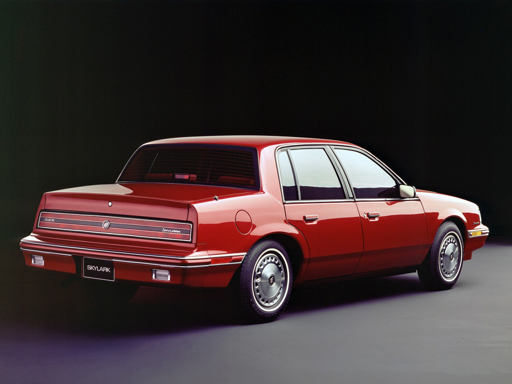 1988 Buick Skylark Information And Photos Momentcar