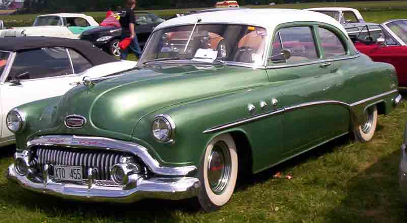 1951 buick special information and photos momentcar for 1951 buick special 4 door