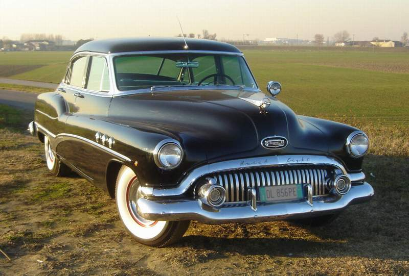 1951 buick super information and photos momentcar for 1951 buick special 4 door