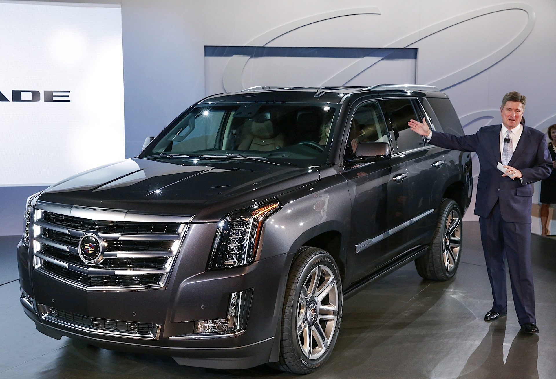 Cadillac 2014 Escalade, a giant SUV originally designed #9