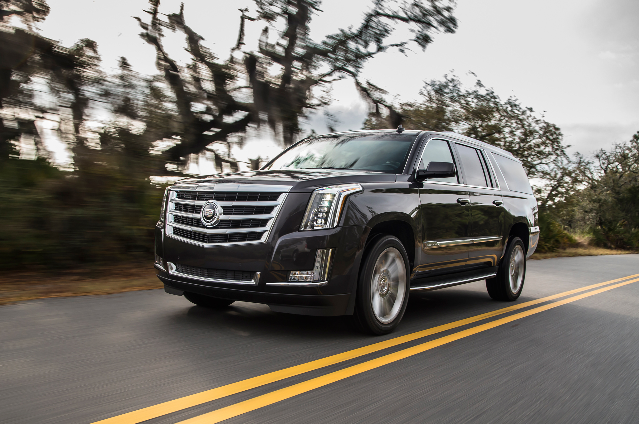 Cadillac 2015 escalade opening a new generation of luxury SUVs #7