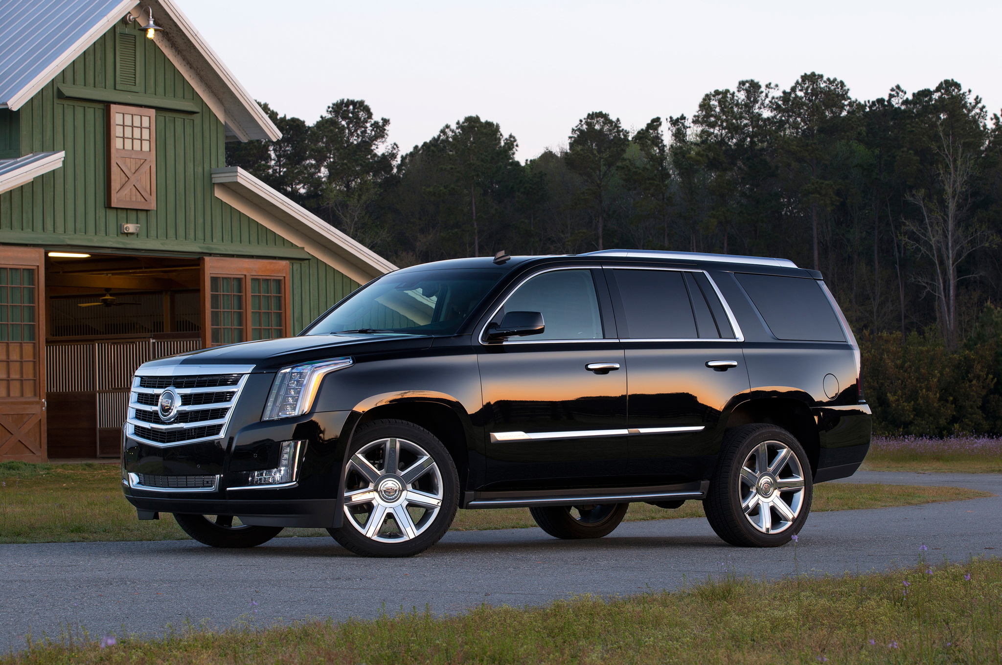 Cadillac 2015 escalade opening a new generation of luxury SUVs #8