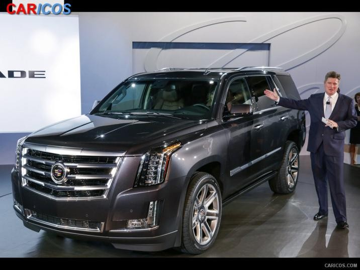 Cadillac 2015 escalade opening a new generation of luxury SUVs #9