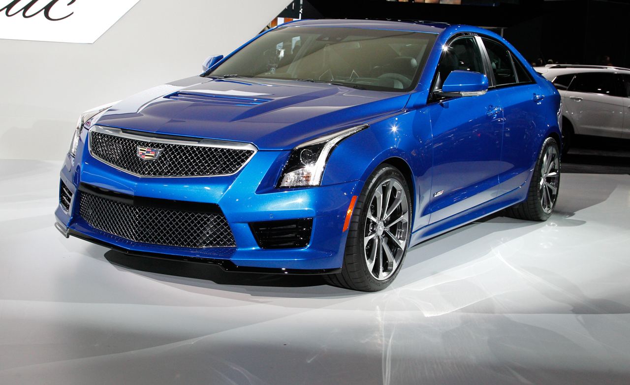 2015 Cadillac ATS-V - Information and photos - MOMENTcar