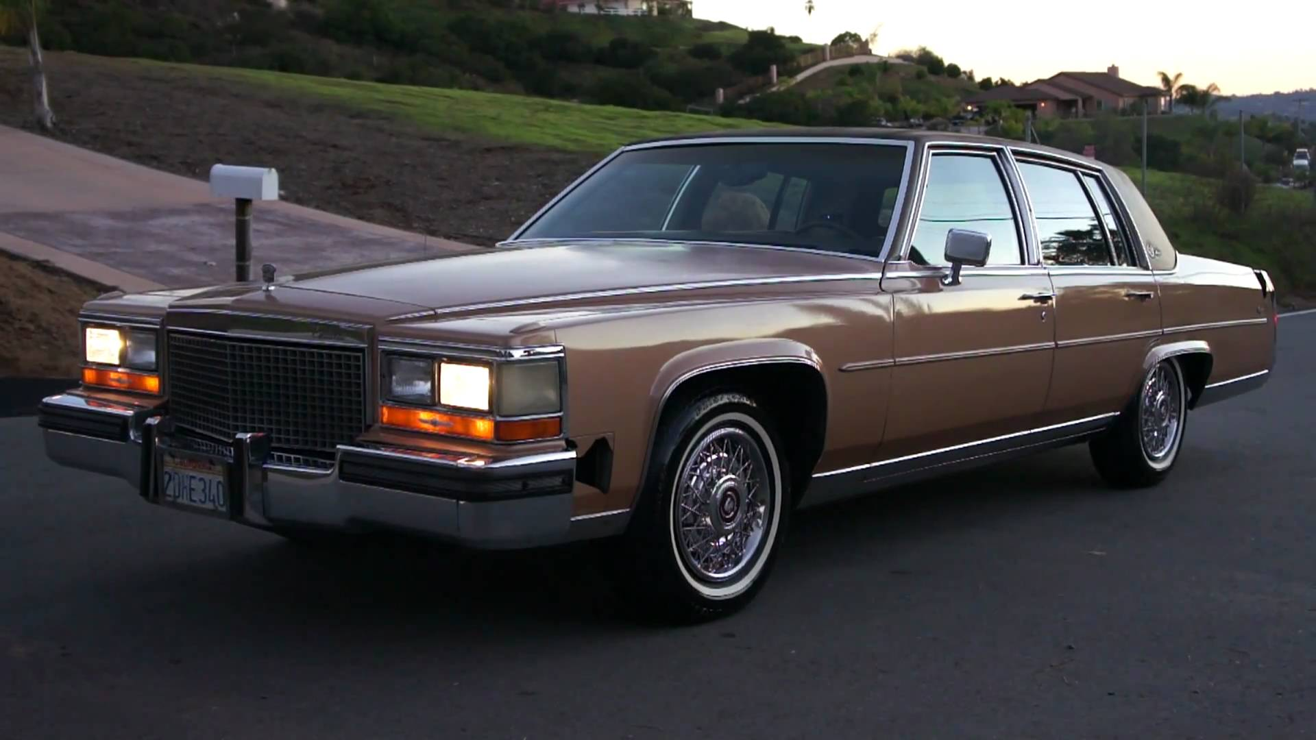 1987 Cadillac Brougham Information And Photos Momentcar