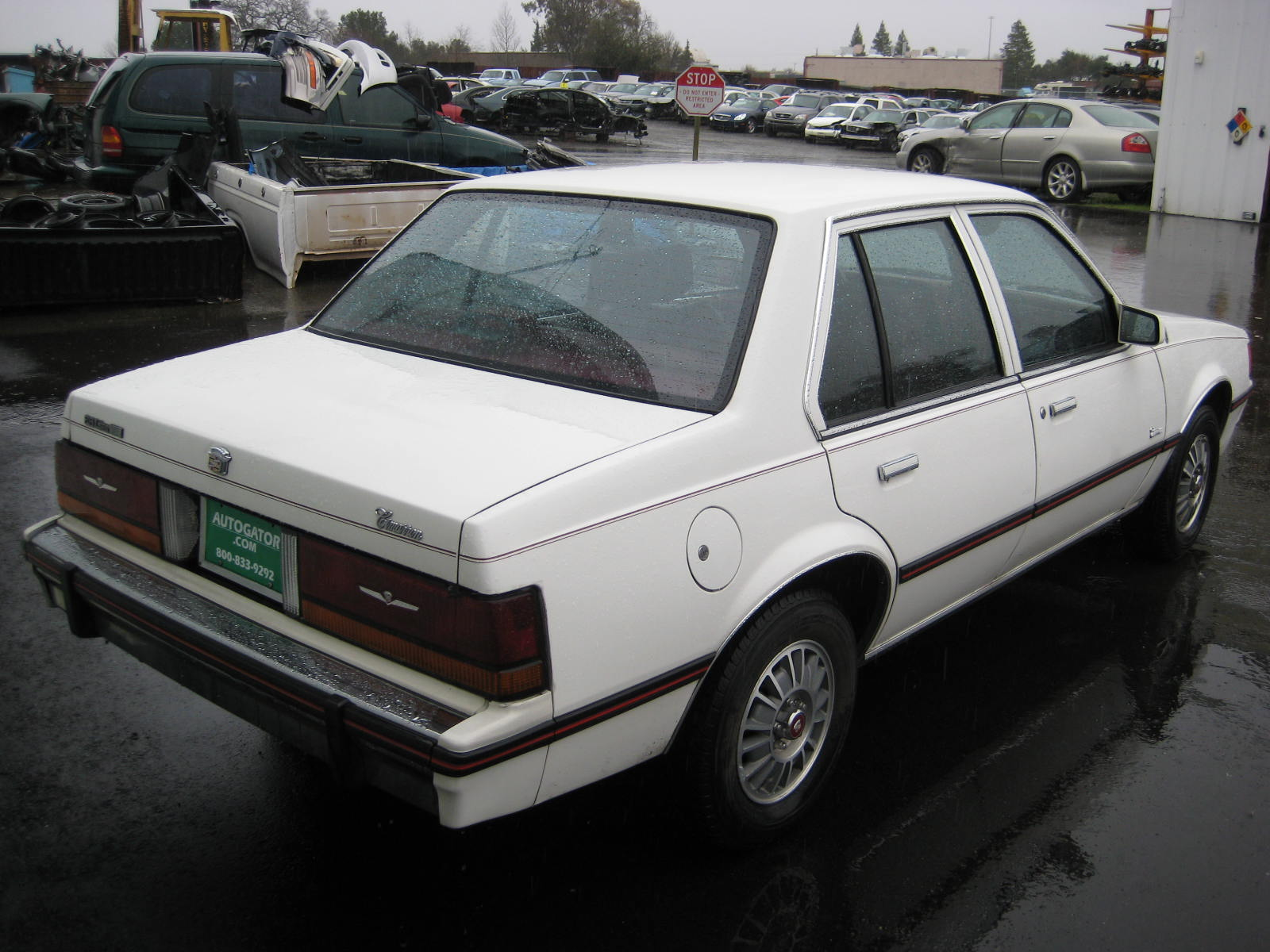 1987 Cadillac Cimarron - Information and photos - MOTcar