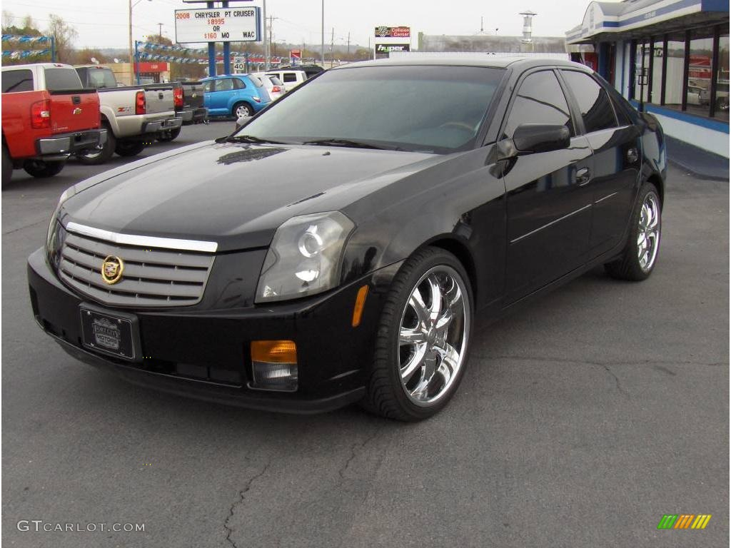 2004 cadillac cts information and photos momentcar. Black Bedroom Furniture Sets. Home Design Ideas