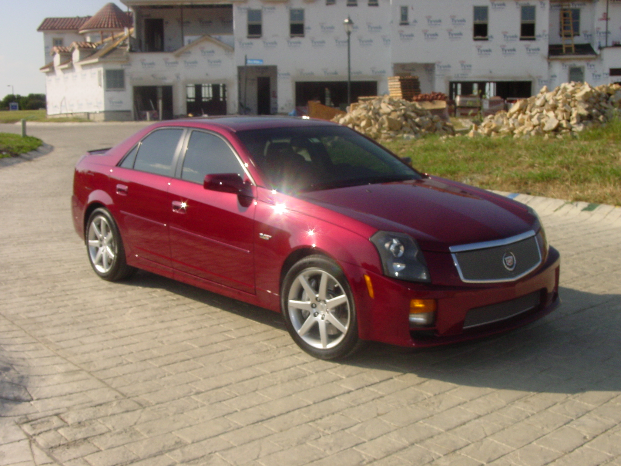 2005 cadillac cts information and photos momentcar. Black Bedroom Furniture Sets. Home Design Ideas