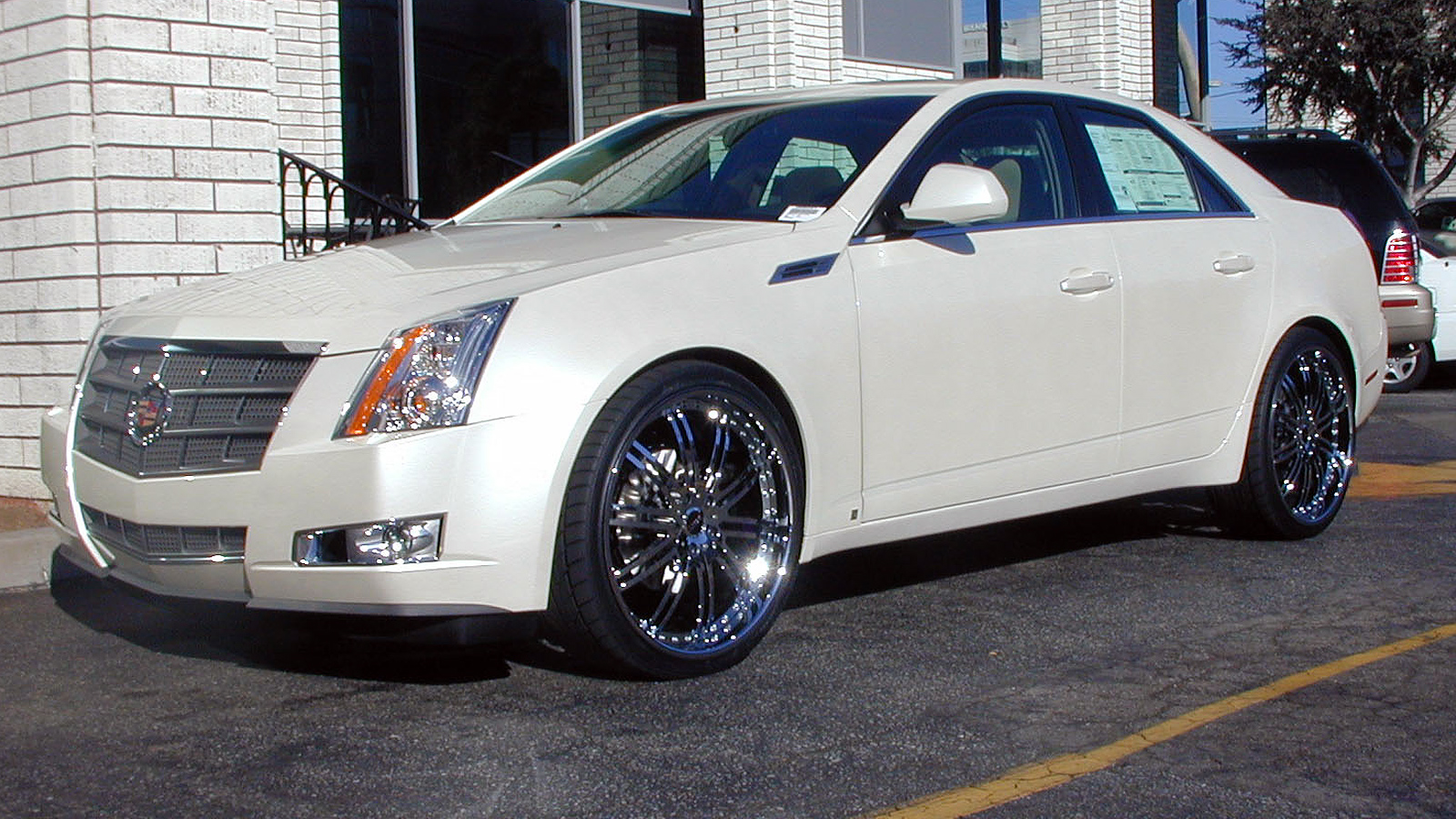 2008 Cadillac Cts Information And Photos Momentcar