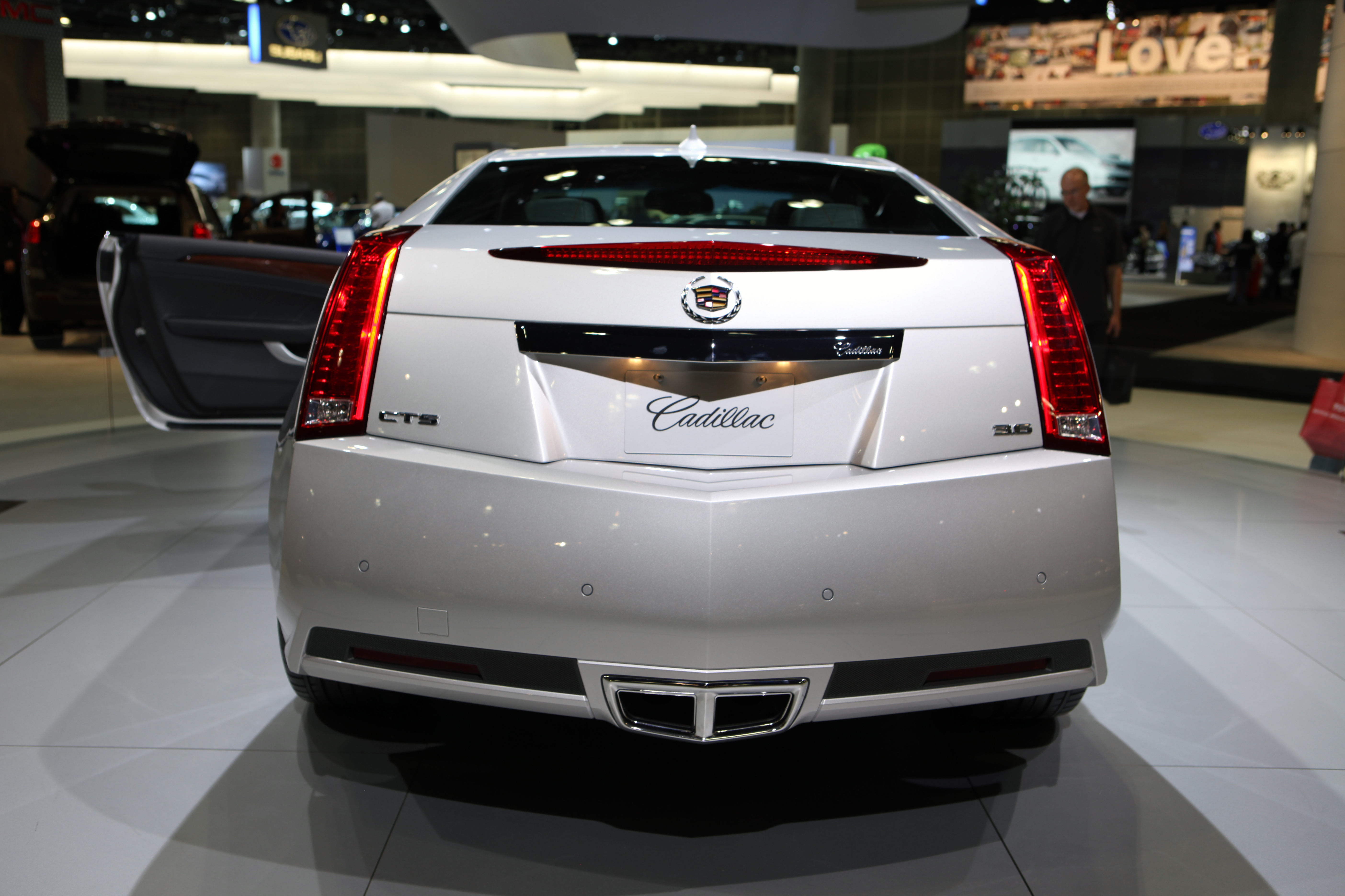 CADILLAC CTS COUPE - 6186px Image #13