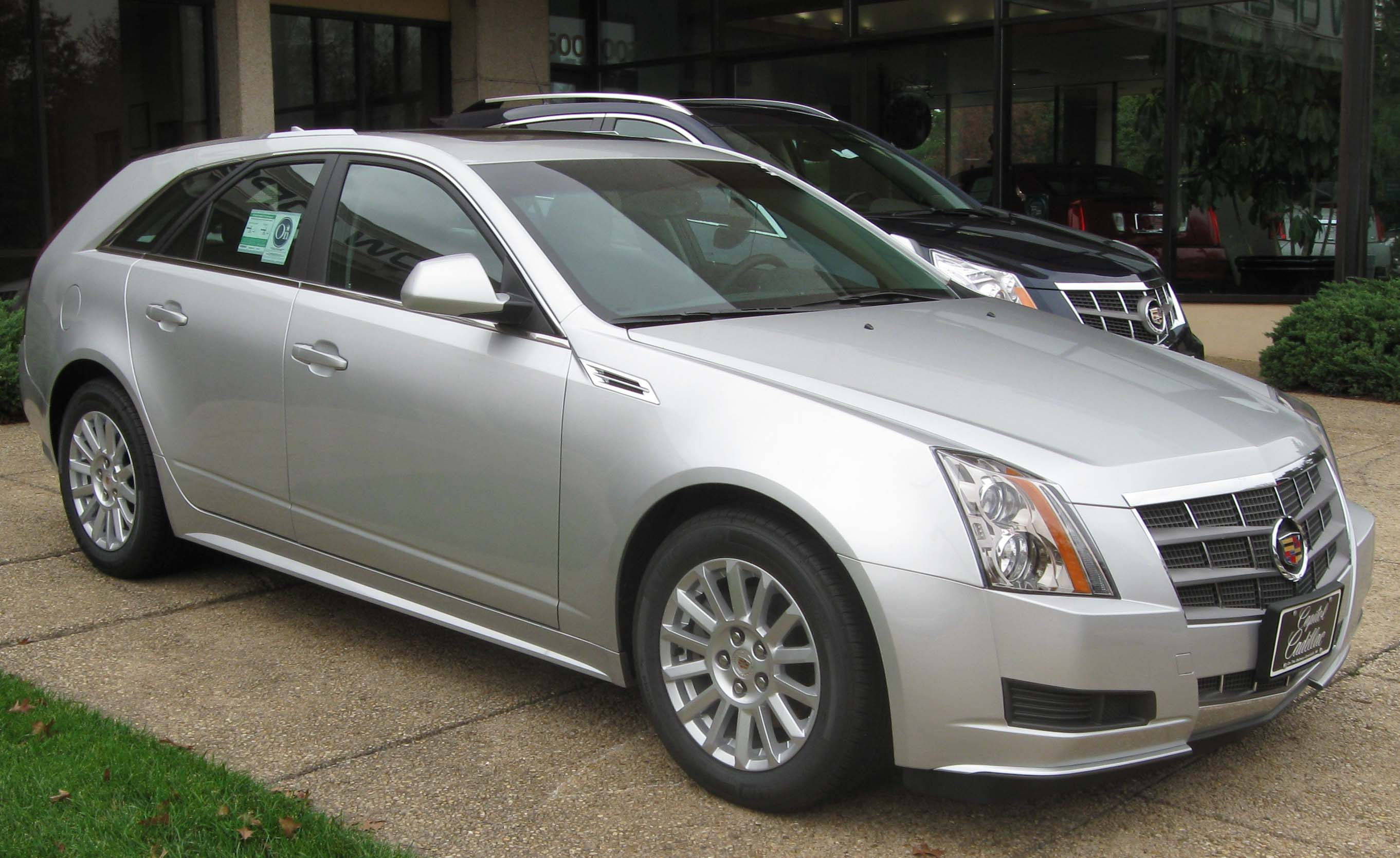 2010 cadillac cts wagon information and photos momentcar. Black Bedroom Furniture Sets. Home Design Ideas