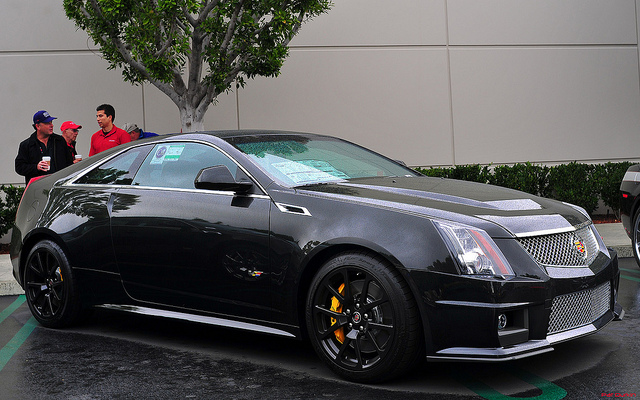2012 Cadillac Cts V Coupe Information And Photos Momentcar