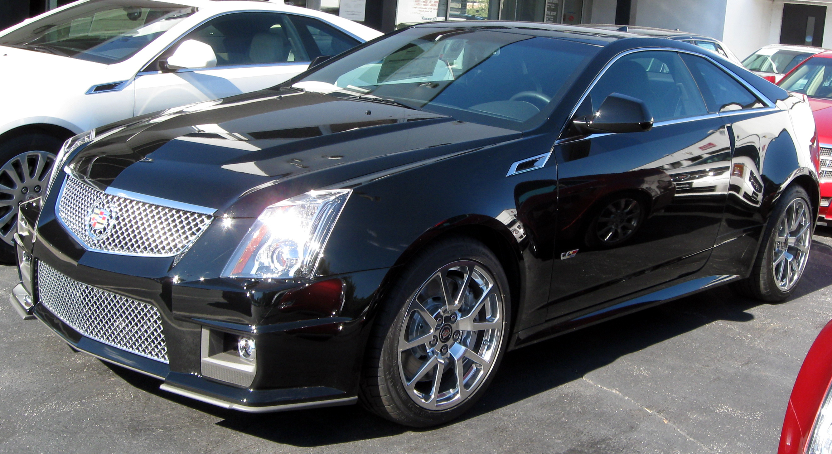 Cadillac CTS-V Coupe #9