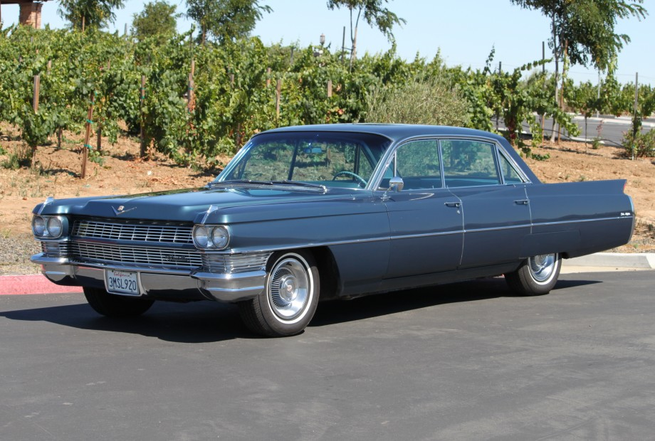 1964 cadillac deville information and photos momentcar - Cadillac coupe deville a vendre ...