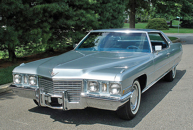 1972 cadillac deville information and photos momentcar. Cars Review. Best American Auto & Cars Review