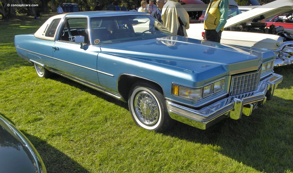 1976 cadillac deville information and photos momentcar. Cars Review. Best American Auto & Cars Review
