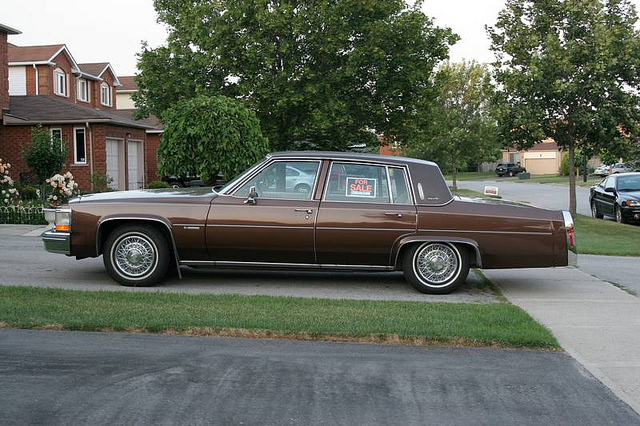 1981 Cadillac DeVille - Information and photos - MOTcar