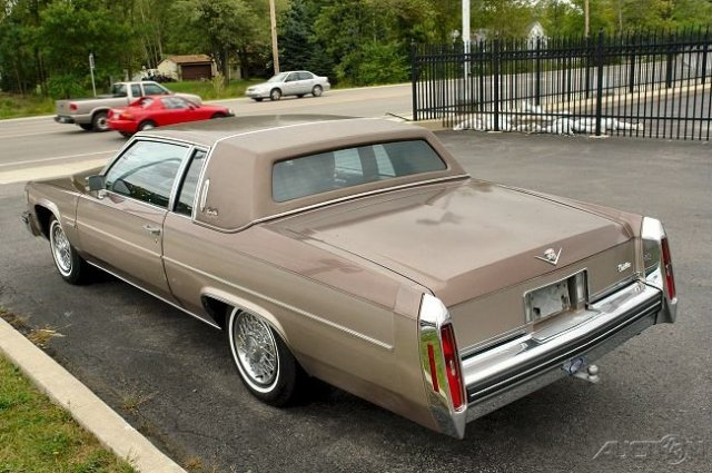 1982 Cadillac Deville Information And Photos Momentcar