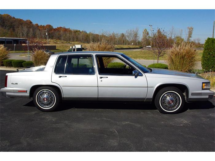 1988 cadillac deville information and photos momentcar. Cars Review. Best American Auto & Cars Review