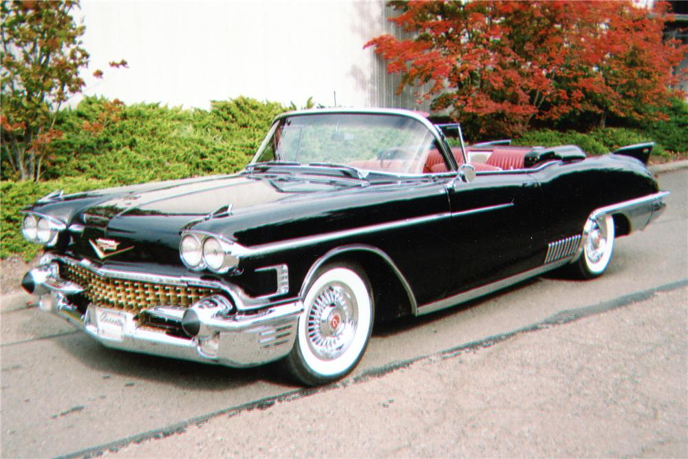 1958 Cadillac Eldorado - Information and photos - MOMENTcar