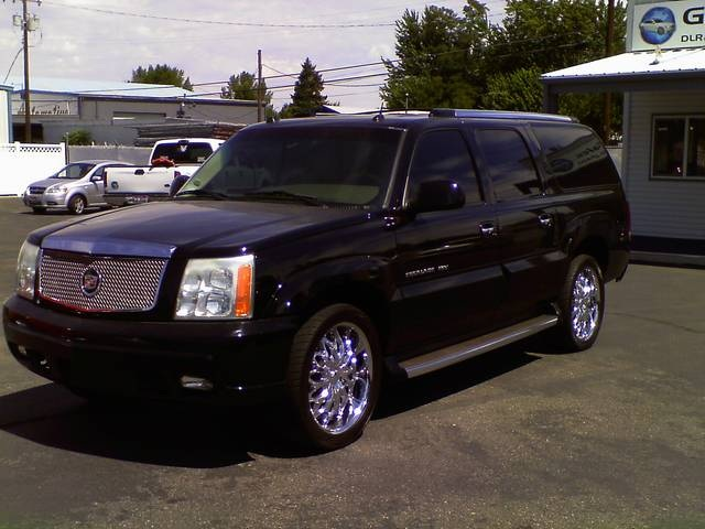 2004 cadillac escalade esv information and photos momentcar momentcar
