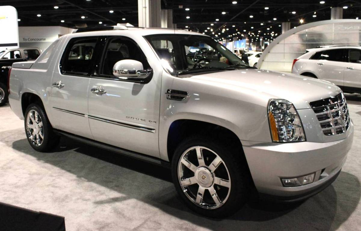 2012 cadillac escalade ext information and photos momentcar. Black Bedroom Furniture Sets. Home Design Ideas