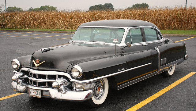 1953 cadillac fleetwood information and photos momentcar for 1953 cadillac 4 door sedan