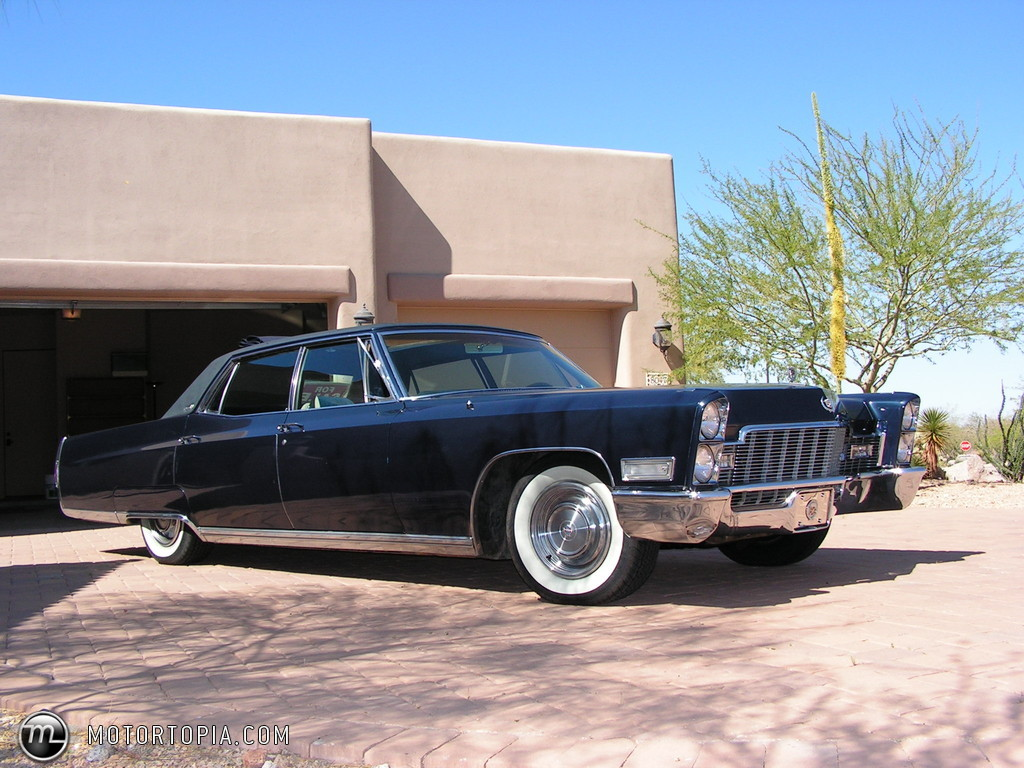 1968 Cadillac Fleetwood - Information and photos - MOTcar