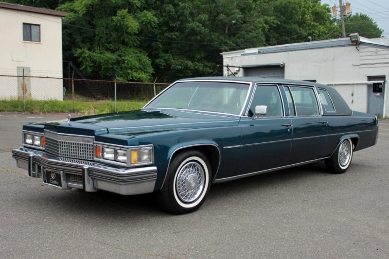 1979 Cadillac Fleetwood Information And Photos Momentcar