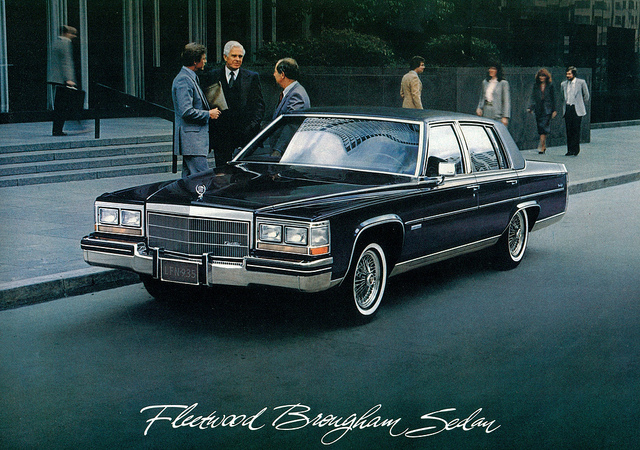 1983 Cadillac Fleetwood Information And Photos Momentcar