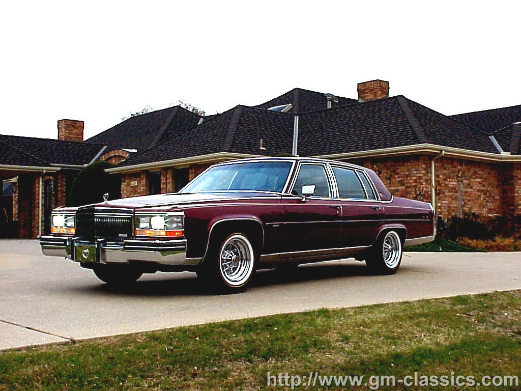 1985 Cadillac Fleetwood  Information and photos  MOMENTcar