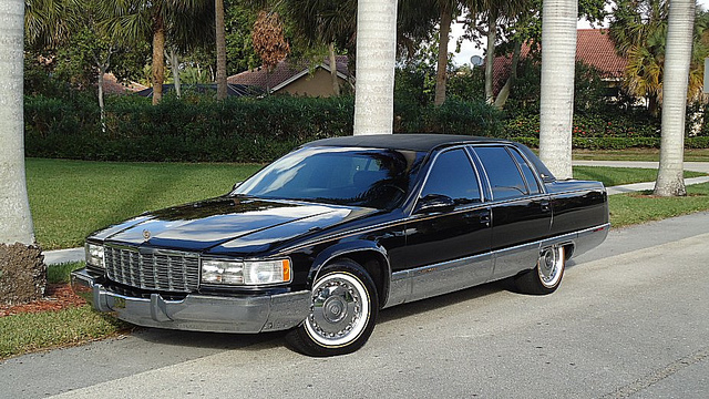 1995 cadillac fleetwood information and photos momentcar. Cars Review. Best American Auto & Cars Review