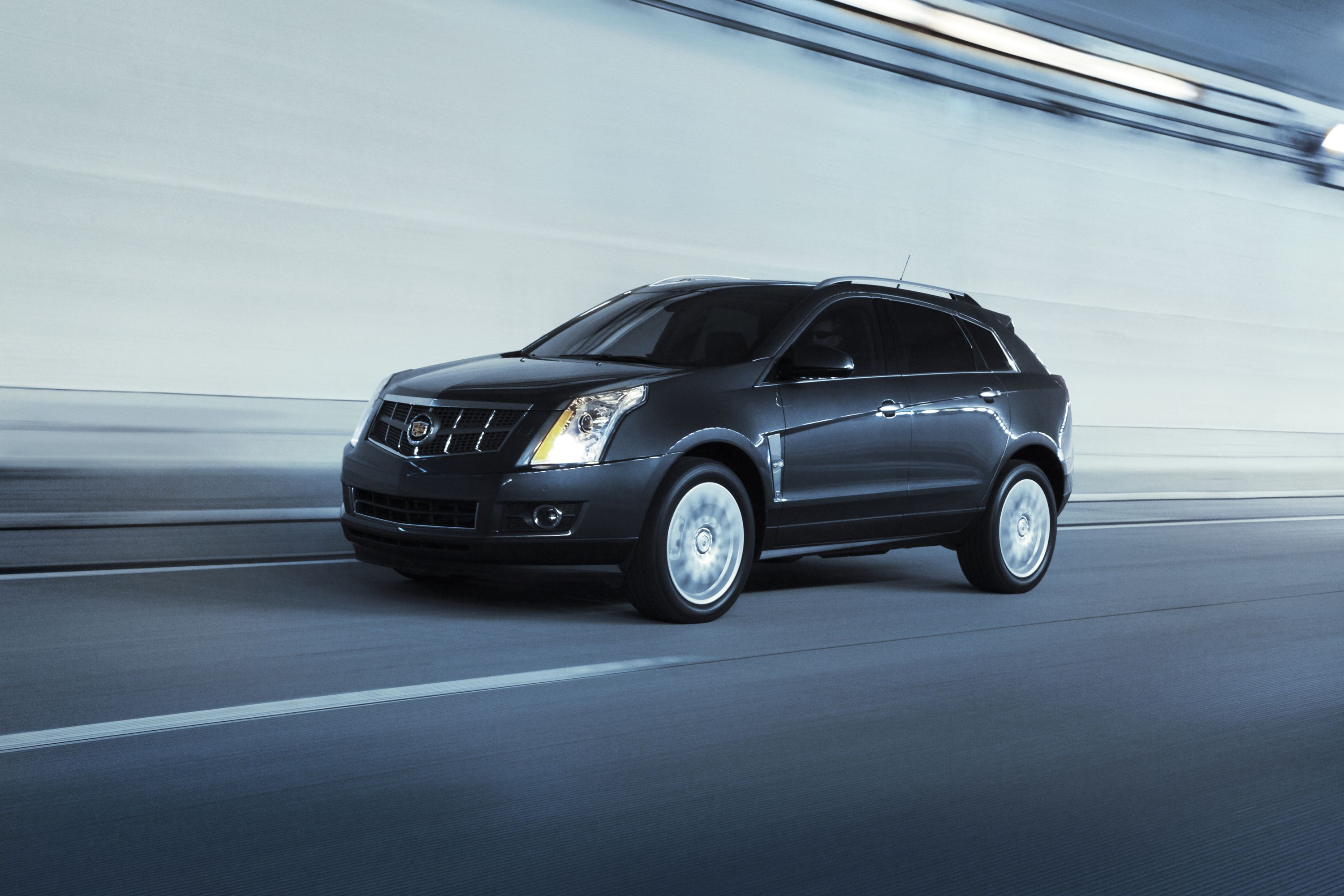 black srx image post cadillac wallpaper