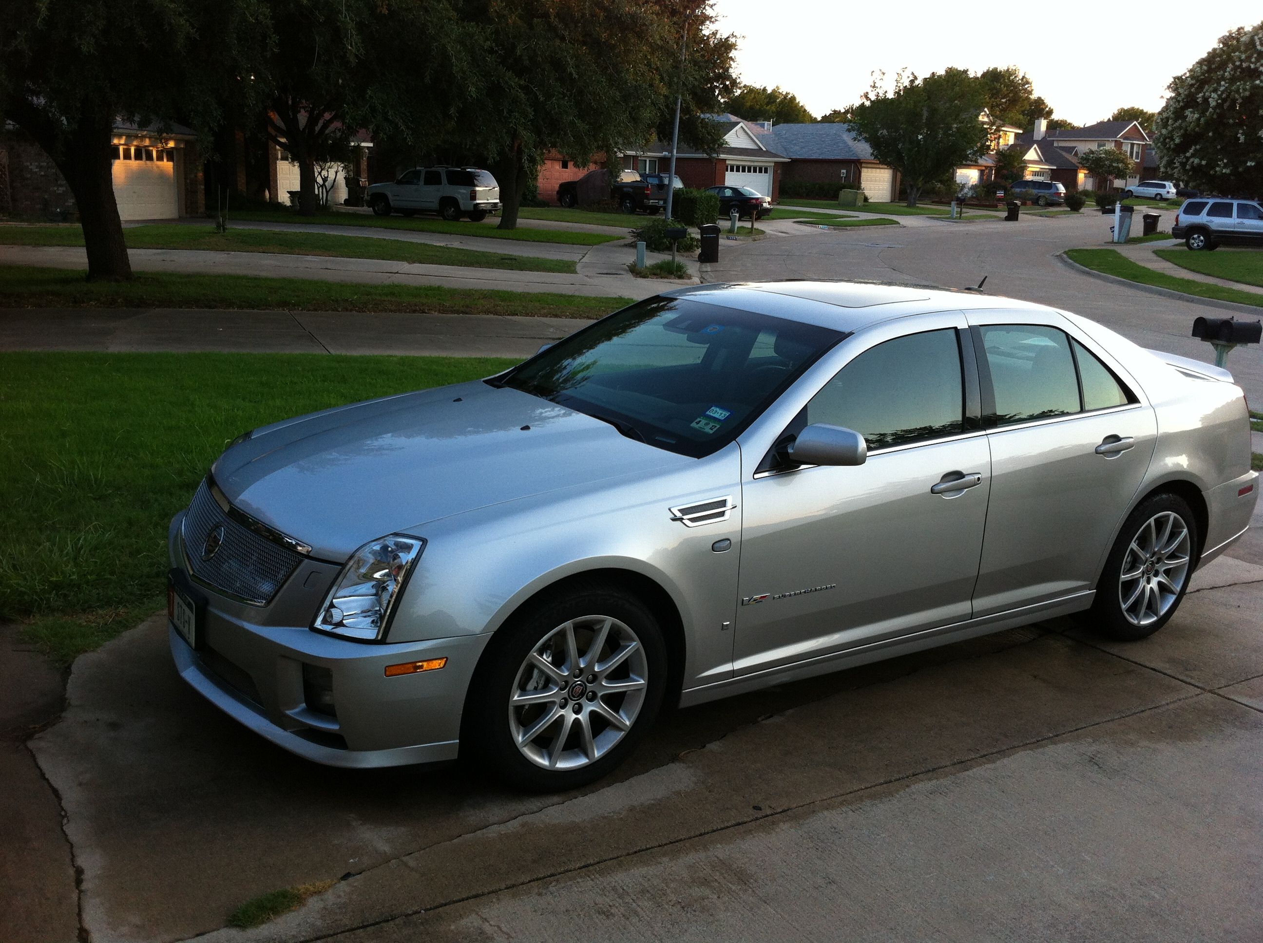 2008 Cadillac STS V Information And Photos MOMENTcar