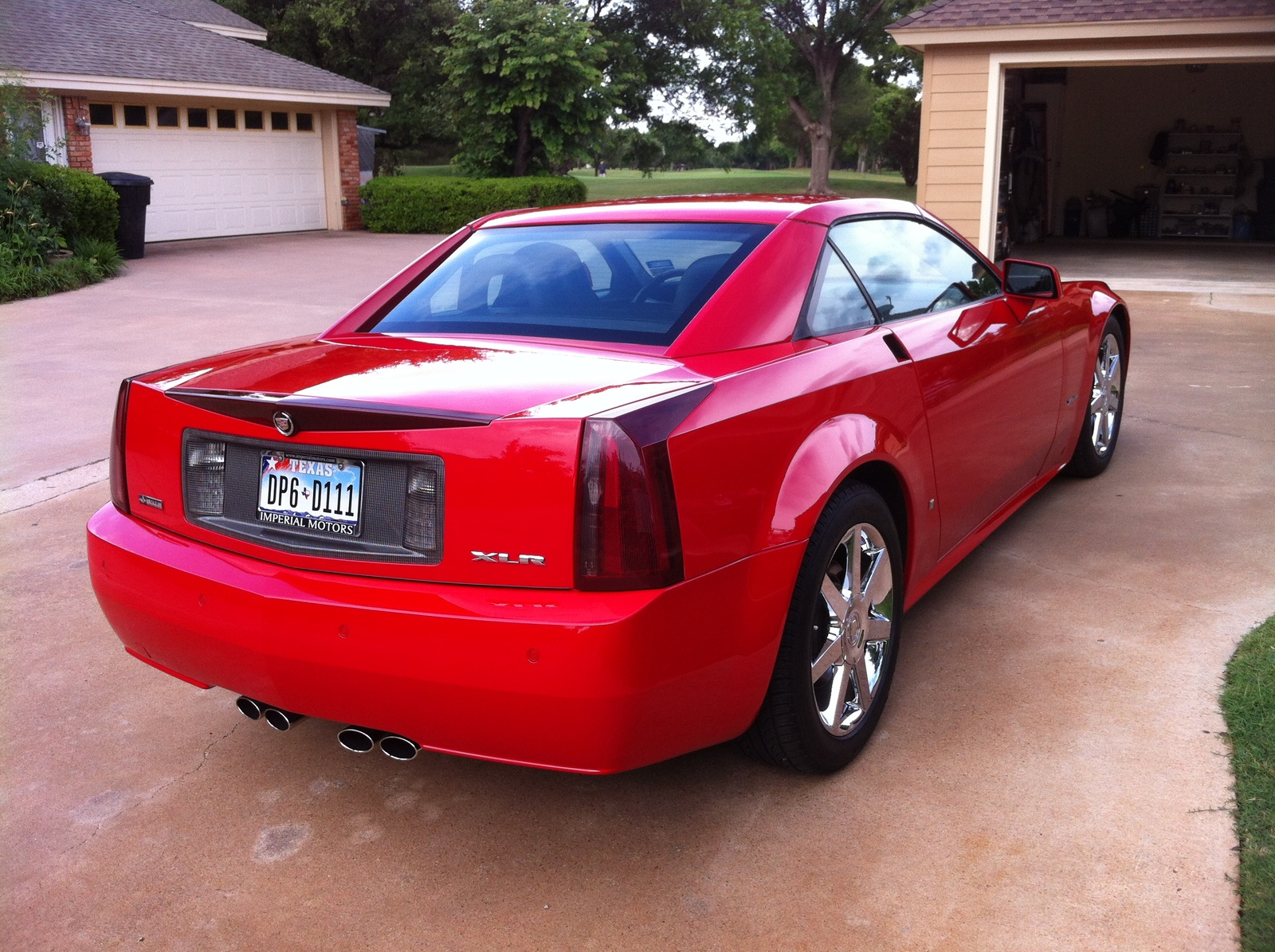 Cadillac XLR Passion Red Limited Edition #8