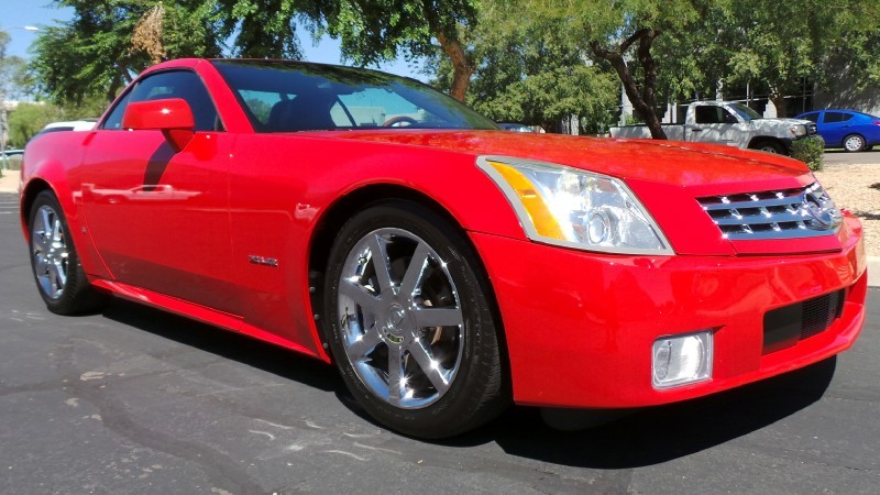 Cadillac XLR Passion Red Limited Edition #9