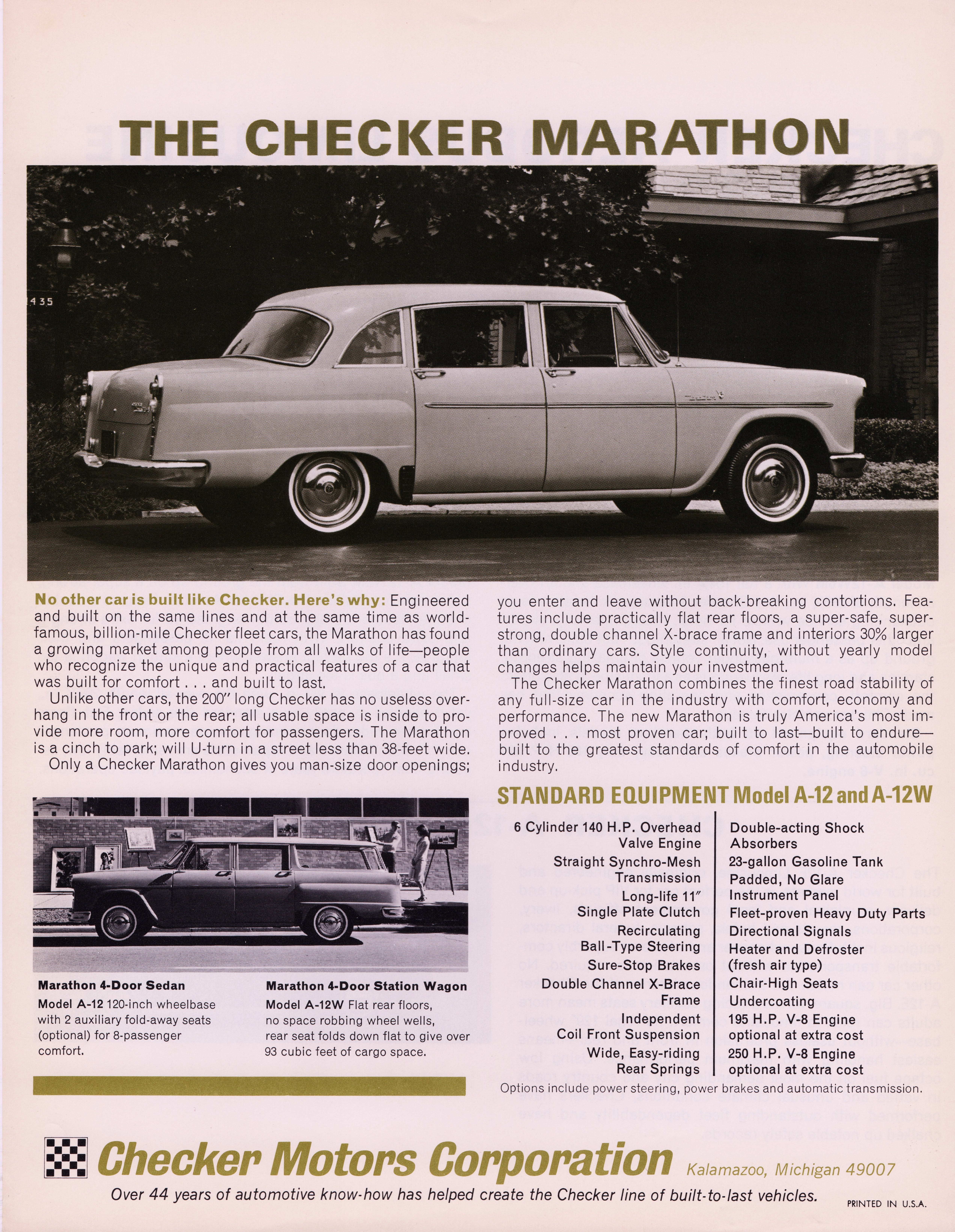 Checker Marathon 1966 #9