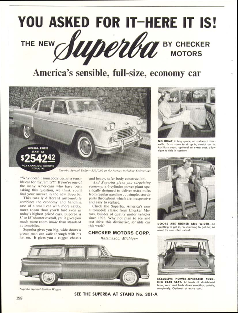 Checker Superba #1