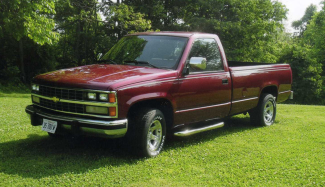 Chevrolet on 1997 Dodge Stepside