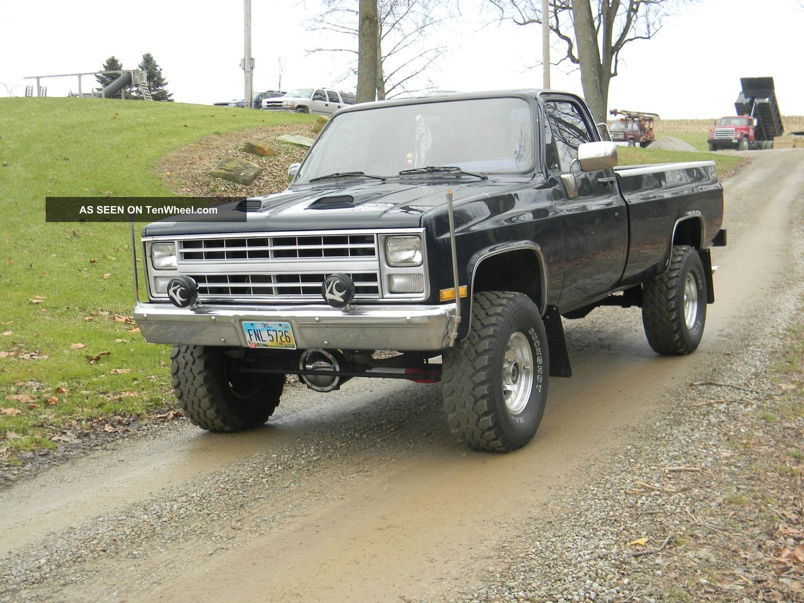 Chevy Truck Short Bed