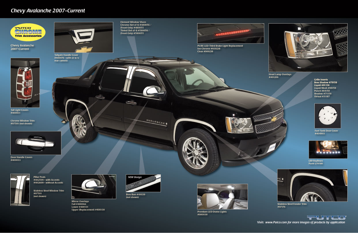 Chevrolet Avalanche 168px Image 11