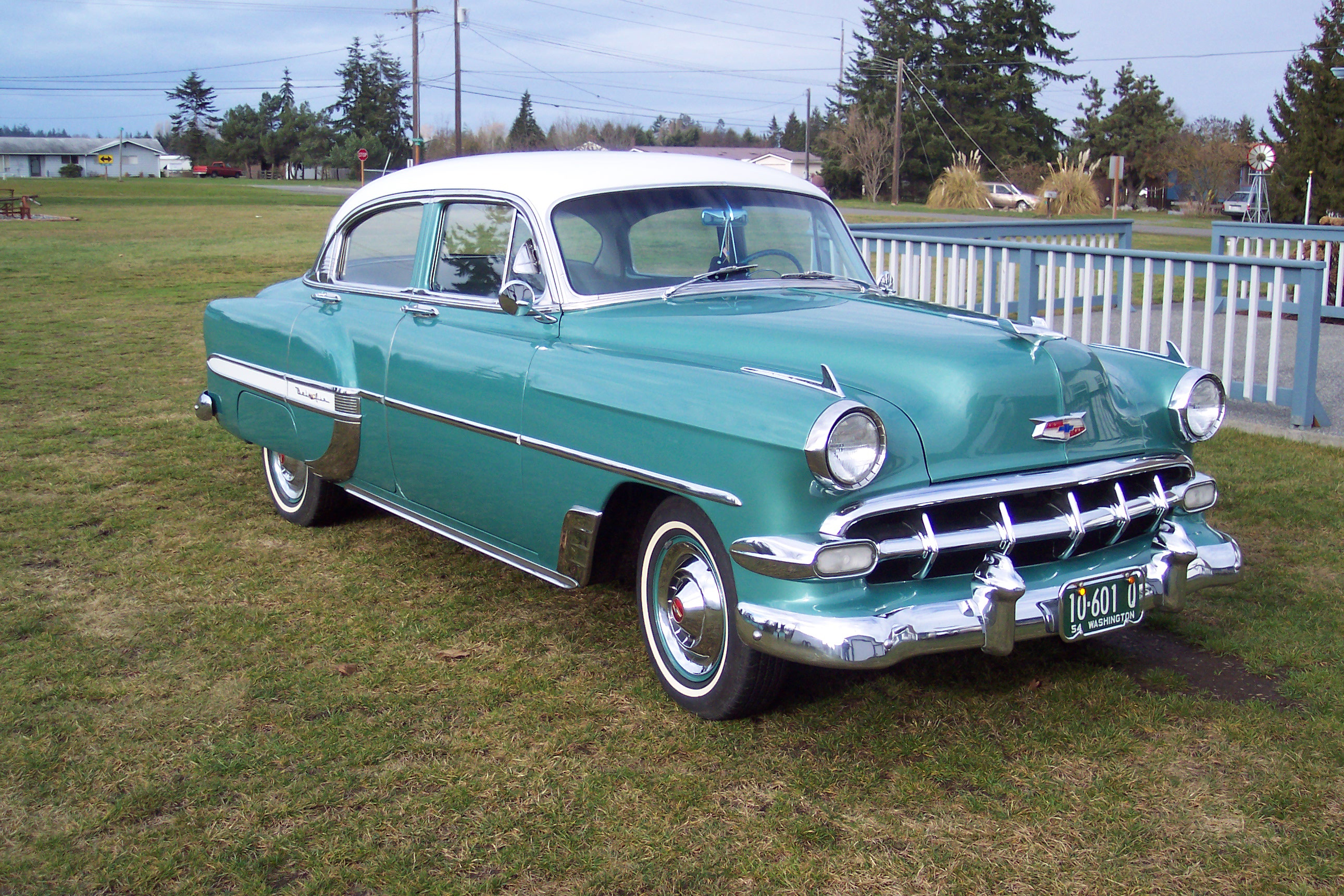 1954 Chevrolet Bel Air Information And Photos Momentcar