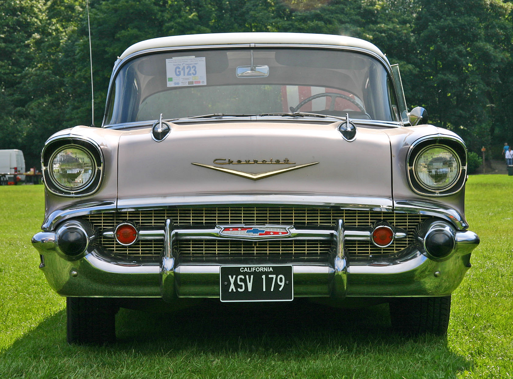 1957 Chevrolet Bel Air Information And Photos Momentcar Chevy Convertible Lowrider 8